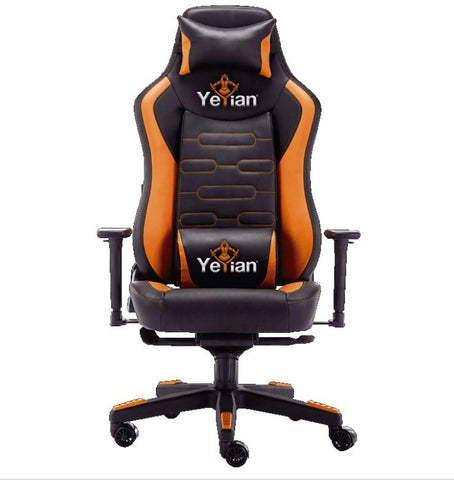 Silla Gaming Yeyian REclinable 4D Naranja YAR-950)