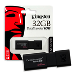 Memoria USB Kingston 32GB USB 3.0 NEGRA (DT100G3/32GB)