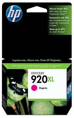 Tinta Hp 920Xl Magenta 700 Pag Para Officejet (CD973AL)