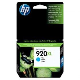 Tinta Hp 920Xl Cyan Para Officejet Pro 6000, 6500, 7500 (CD972AL)