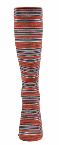 Ja-vie Compression Socks, Santa Fe Stripe (15-20mmHG)
