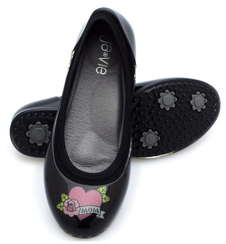 ja-vie tattoo jelly flats shoes