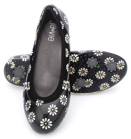 ja-vie daisy jelly flats shoes