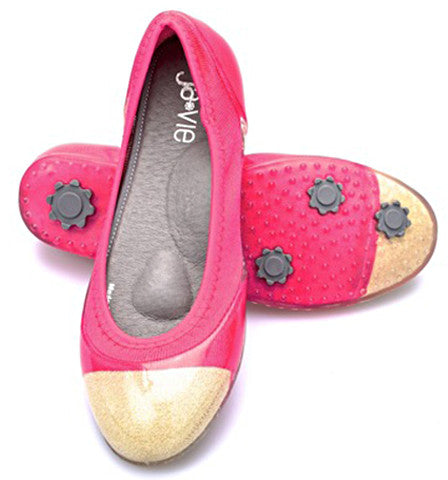 Hibiscus/Gold Flats