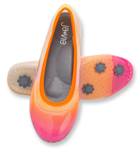 ja-vie sunset ombre jelly flats shoes