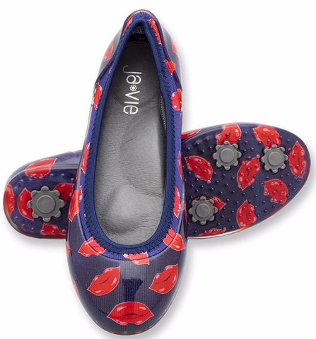 ja-vie lips jelly flats shoes