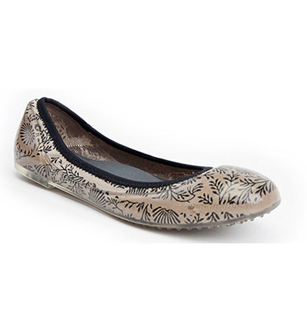 ja-vie china clay floral jelly flats shoes