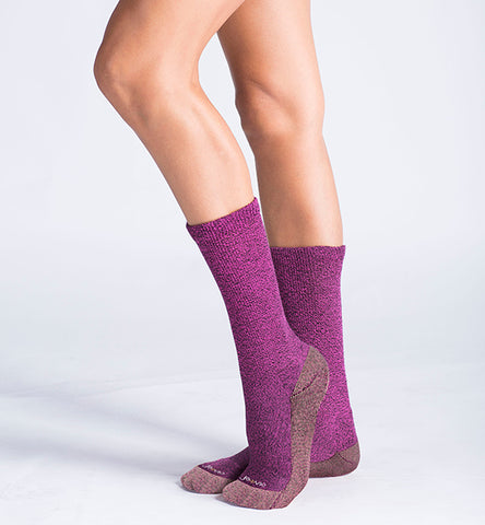 ja-vie Copper Non-Binding Relaxed Fit socks, Fuchsia