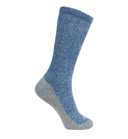 ja-vie Copper Non-Binding Relaxed Fit socks, Blue