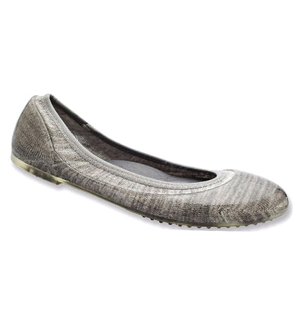 ja-vie slate stripe jelly flats shoes