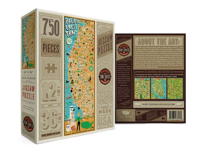 Pacific Crest Trail - 750 Pieces