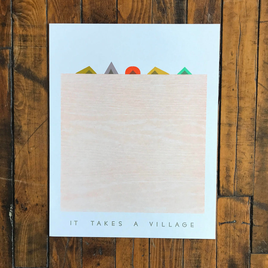 It Takes a Village - Gingerly Press