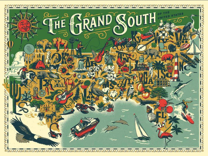 The Grand South - 500 Pieces