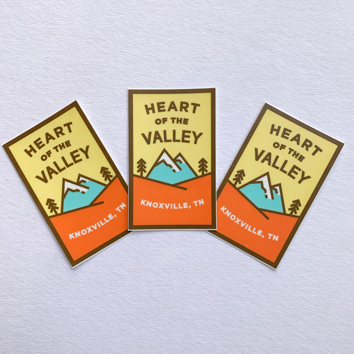 Heart of the Valley - Sticker