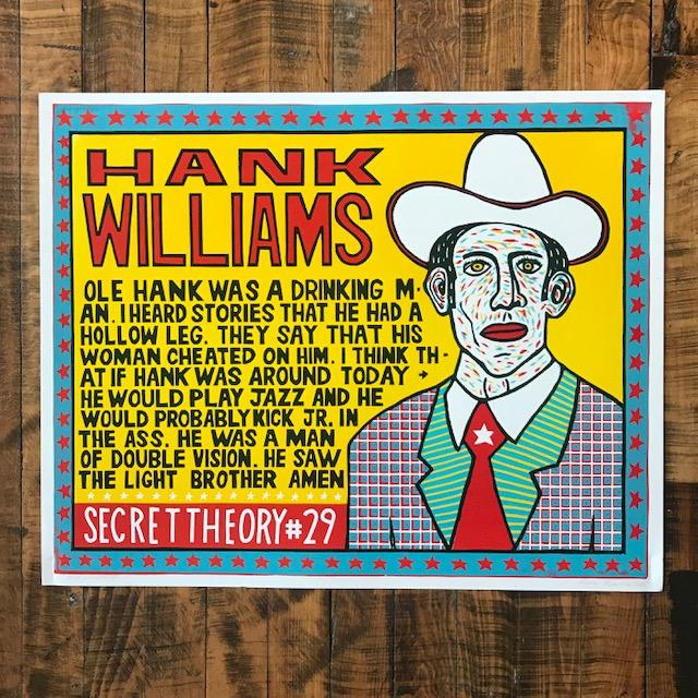 Hank Williams - Yellow - Kevin Bradley