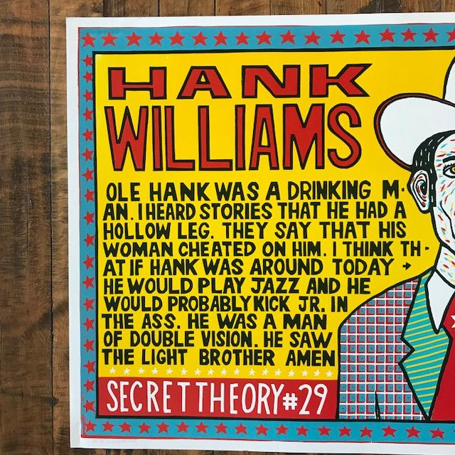 Hank Williams Yellow Kevin Bradley Rala