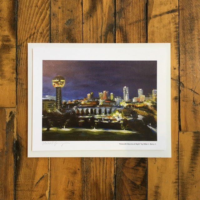 Knoxville Skyline at Night - Mike C. Berry
