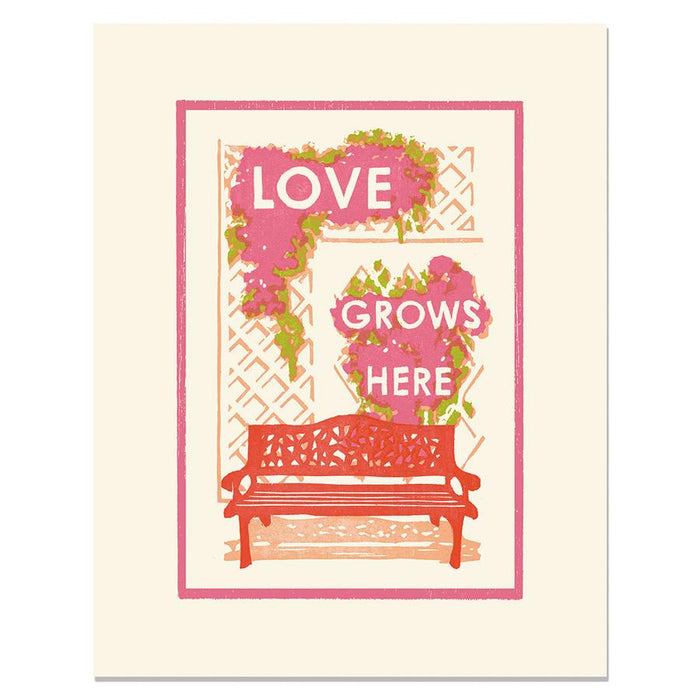 Love Grows Here - Heartell Press