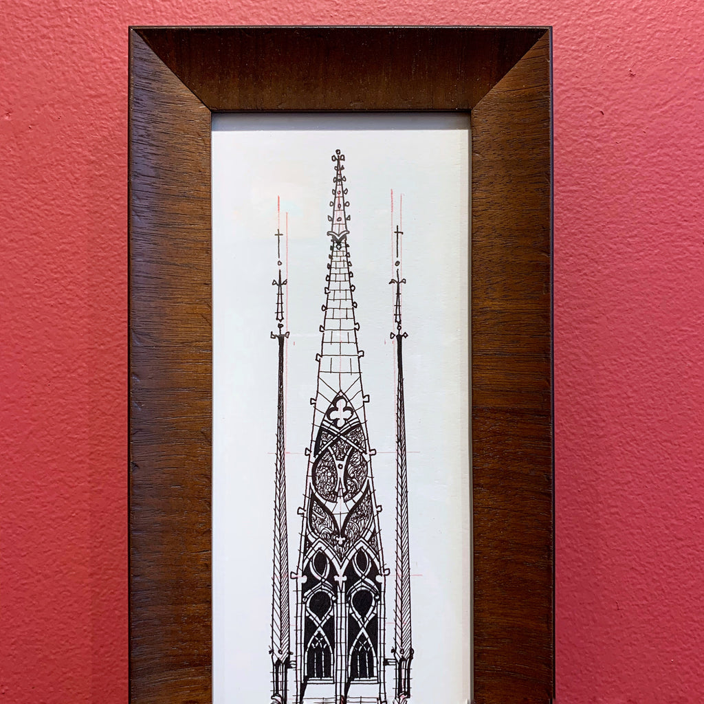 Tall Skinny Wood Frame - Brian Pittman