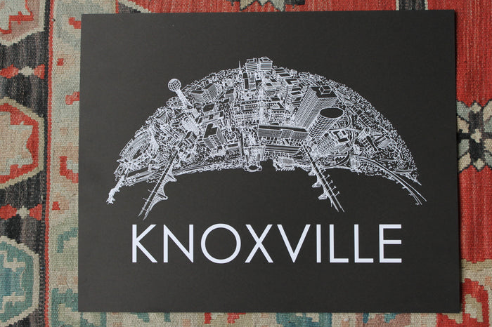Knoxville Skyline Print