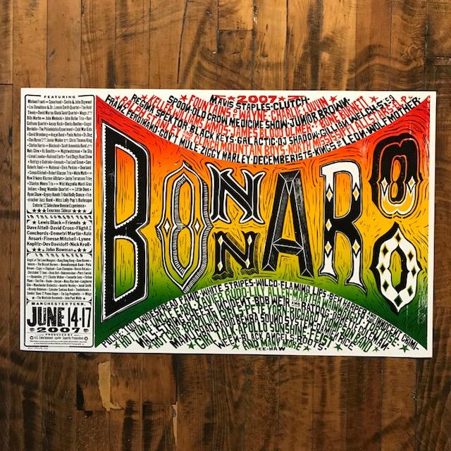 Bonaroo 2007 - Large Multi-Color - Kevin Bradley