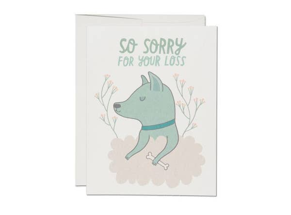 Red Cap Cards: Pet Sympathy