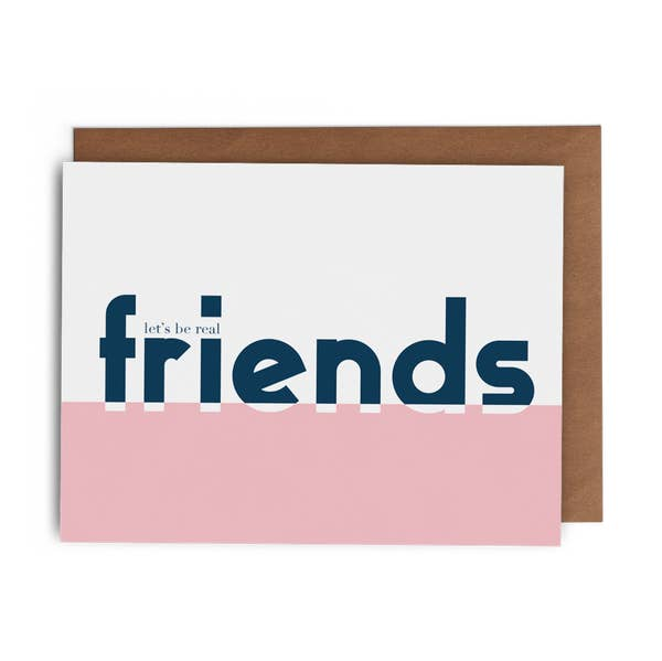Let's Be Real Friends - Boxed Set of 6 Cards