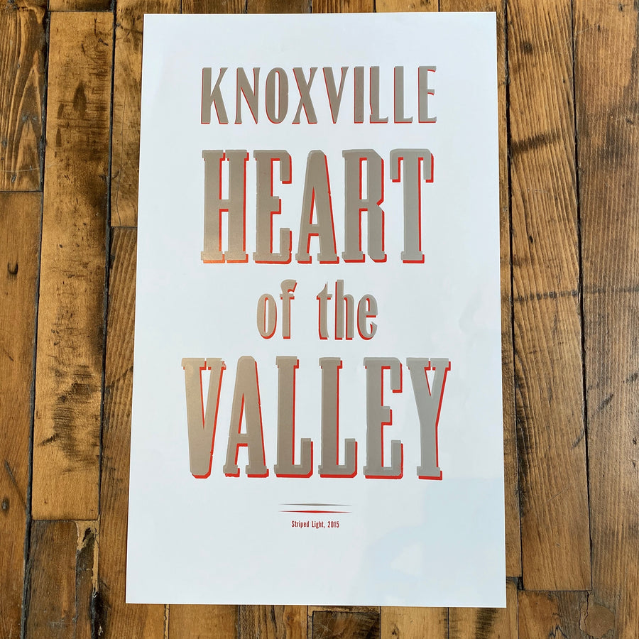 Knoxville Heart of the Valley - Striped Light