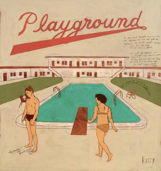 Playground - by Harry Underwood