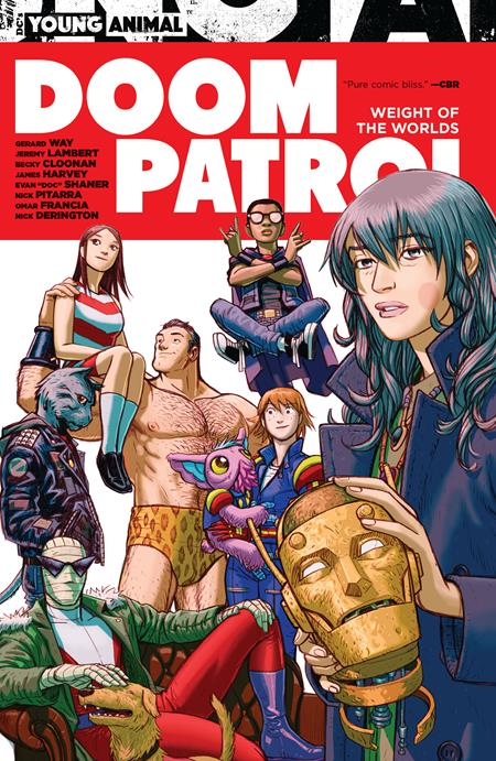 Doom Patrol Weight of The Worlds TP - Books