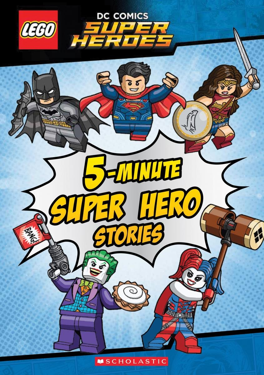 5 Minute Super Hero DC Lego Stories