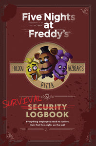 Five Nights At Freddys Survival Logbook