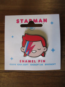 David Bowie Starman Pin