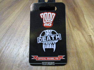 2000 AD Death Pin