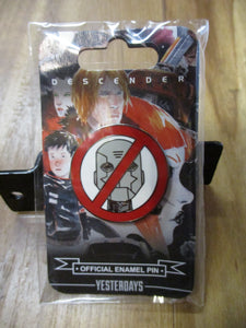 Descender No Robots Pin
