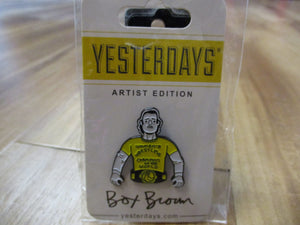 Box Brown Andy Kaufman Wrestling Pin