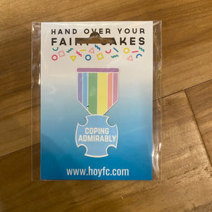 Fairy Cakes: Coping Admirably Sticker