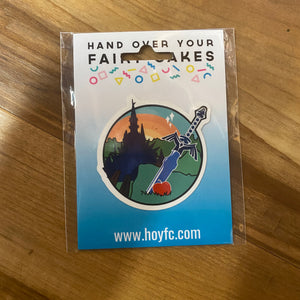 Fairy Cakes: Zelda Adventurer Sticker