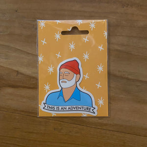 Steve Zissou This Is An Adventure Sticker