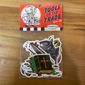 Tools Of The Trade Sticker Set