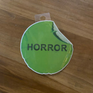 VHS Horror Sticker