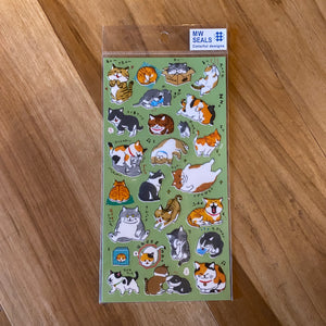 Cat Sticker Japanese