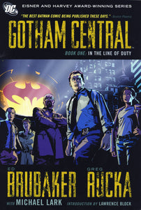 Gotham Central Tp Book 01 In The Line Of Duty