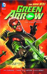 Green Arrow Tp Vol 01 The Midas Touch (New 52)