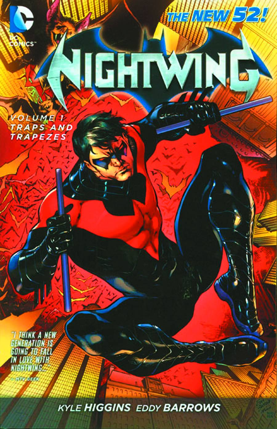 Nightwing Tp Vol 01 Traps And Trapezes (New 52)
