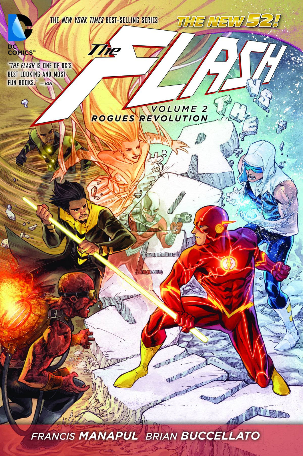 Flash Tp Vol 02 Rogues Revolution (New 52)