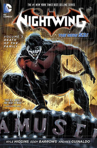 Nightwing Tp Vol 03 Death Of The Family (New 52)