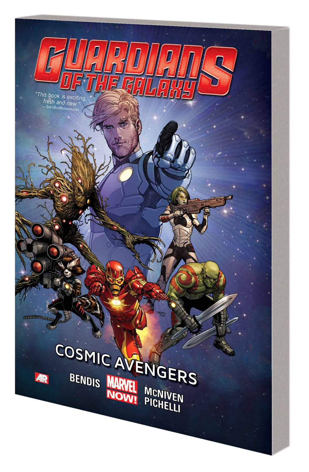 Guardians Of Galaxy Tp Vol 01 Cosmic Avengers