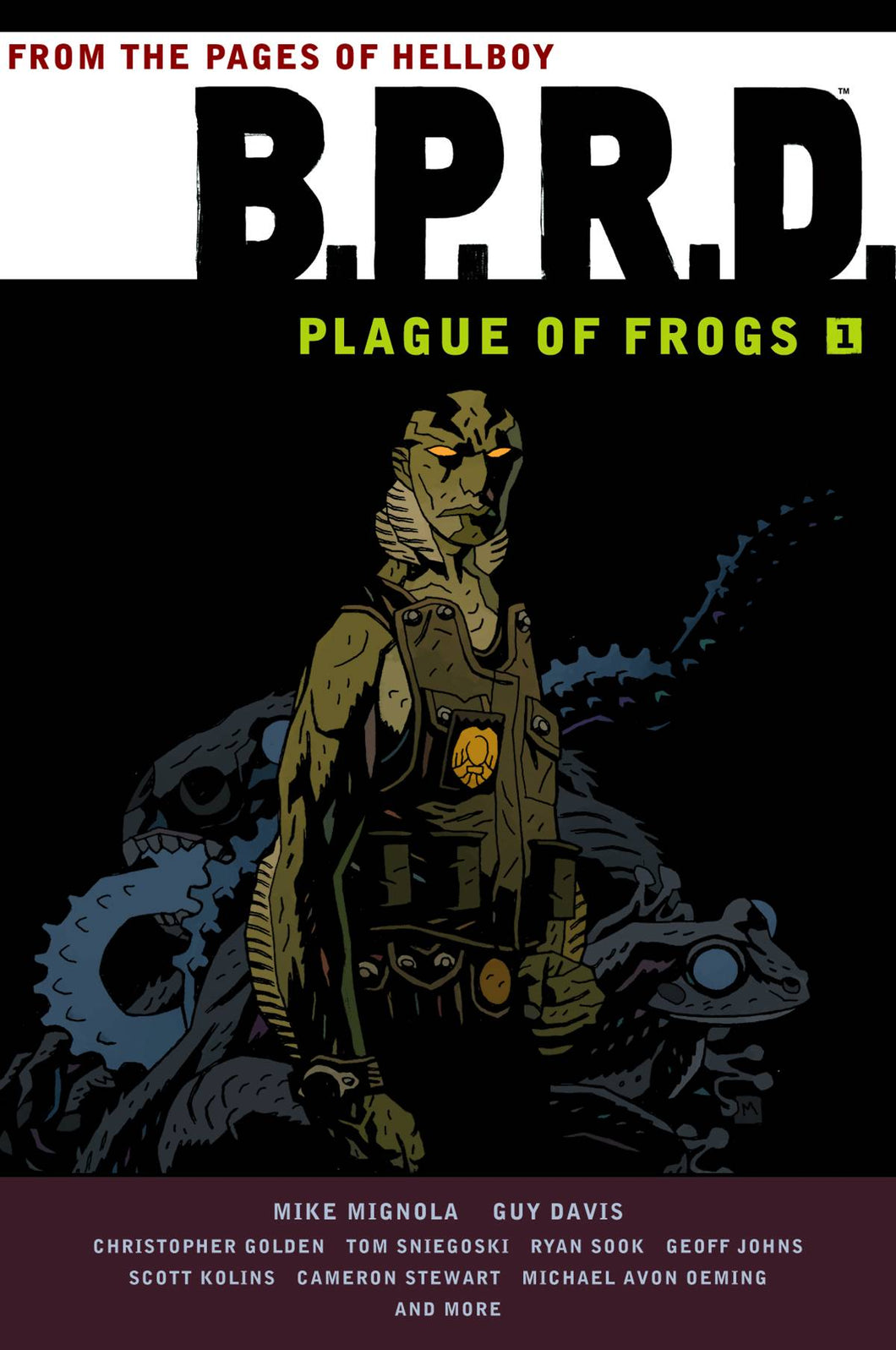 Bprd Plague Of Frogs Tp Vol 01
