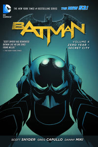 Batman Tp Vol 04 Zero Year Secret City (New 52)